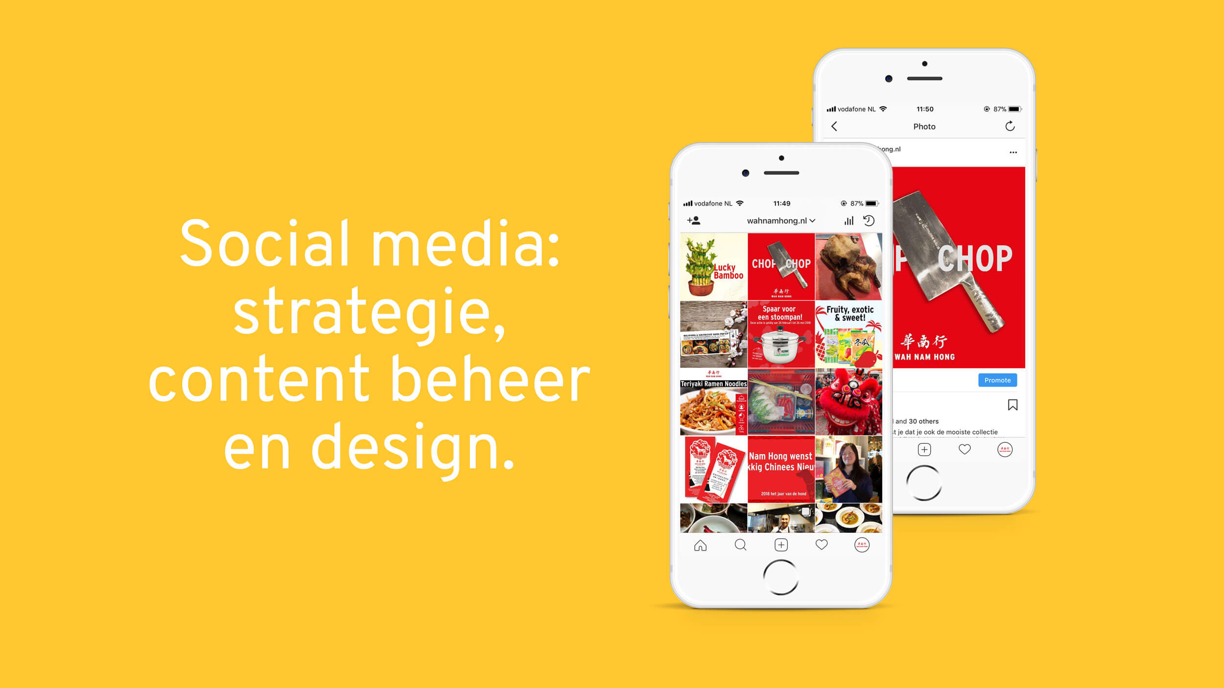 Wah Nam Hong, social media, Mixus studio