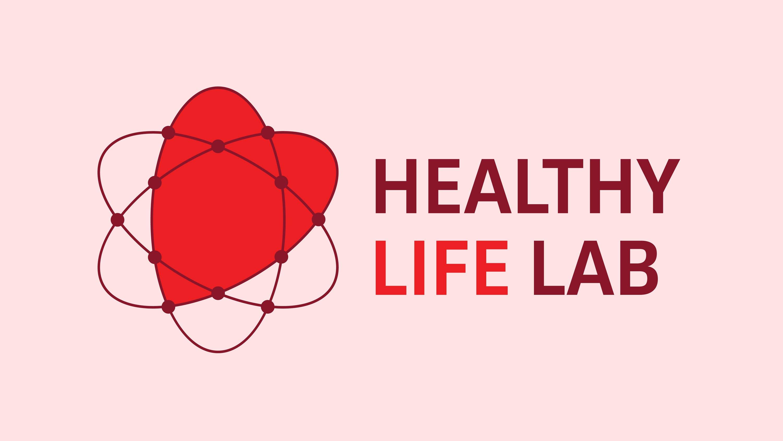 Healthy Life LAB, logo, Mixus Studio