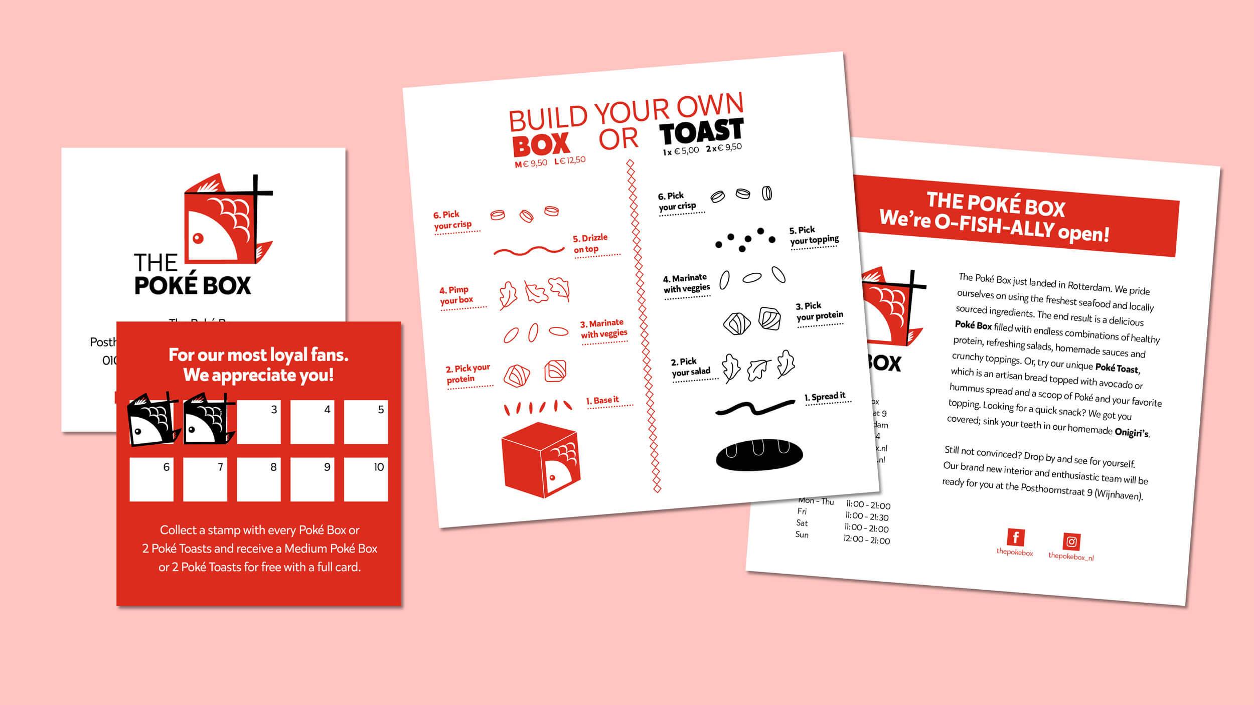 The Poké Box, stempelkaart, Mixus studio