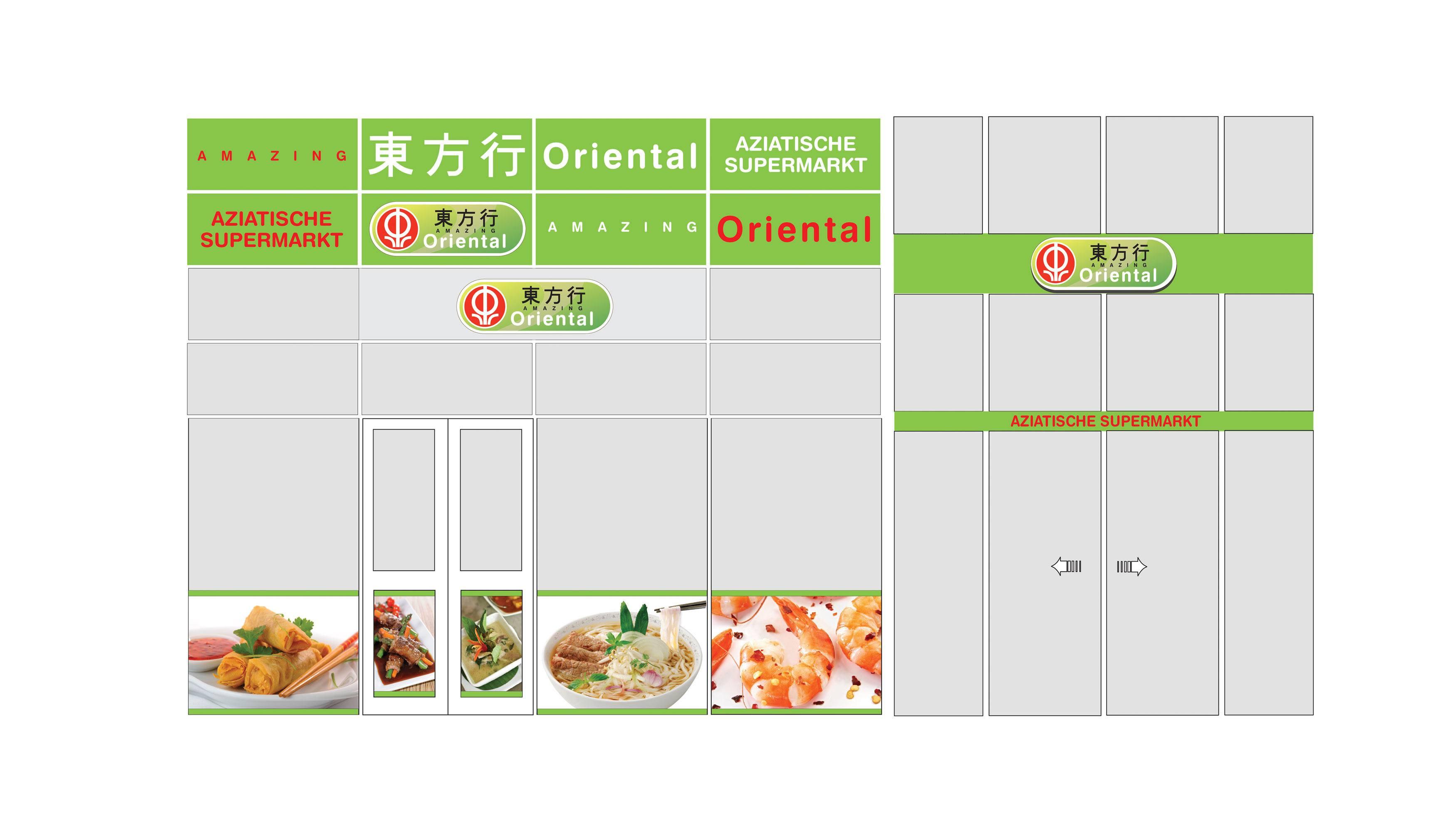 Amazing Oriental, gevel ontwerp, Mixus studio