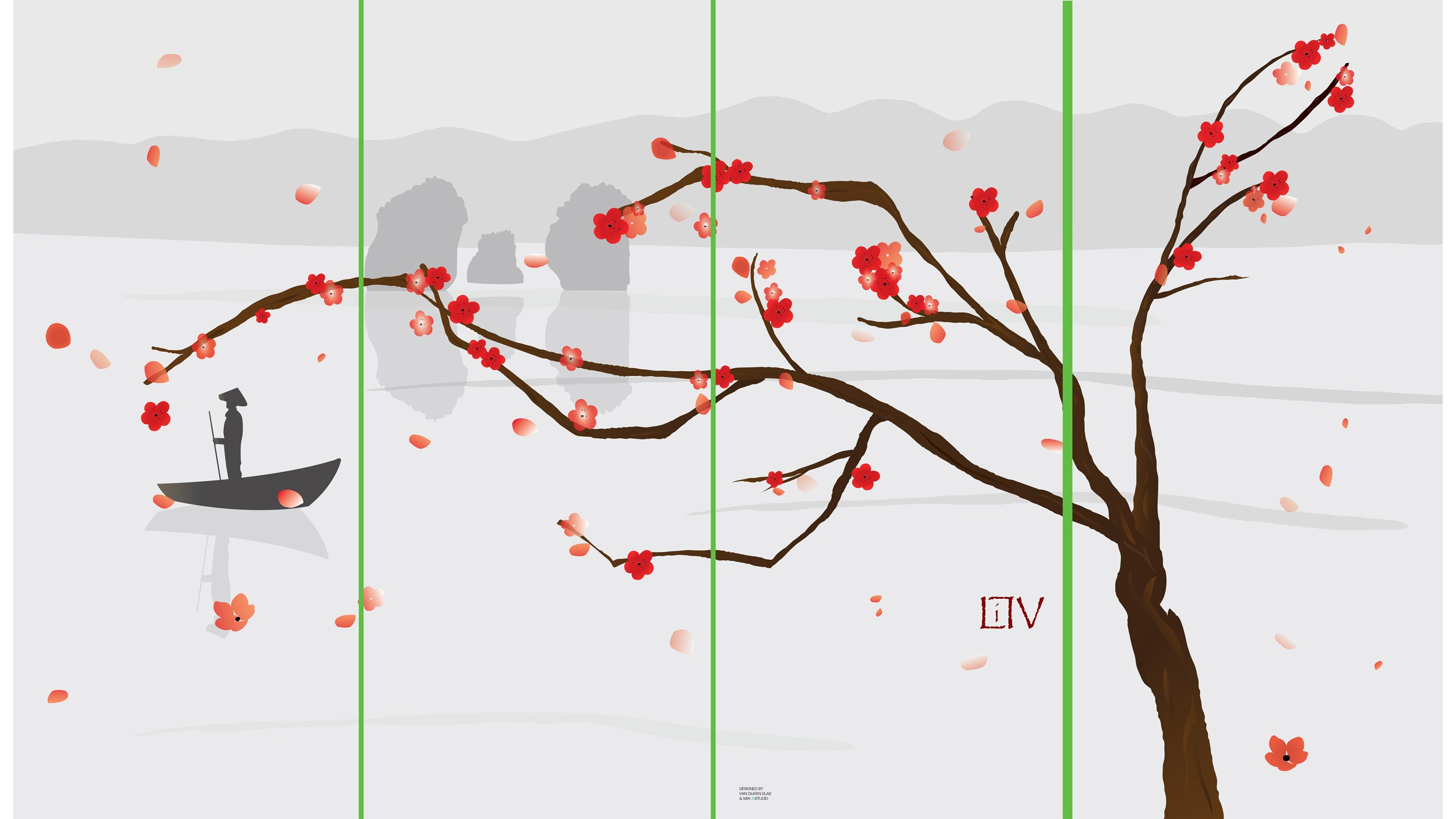 Little V, windscherm ontwerp, Mixus studio