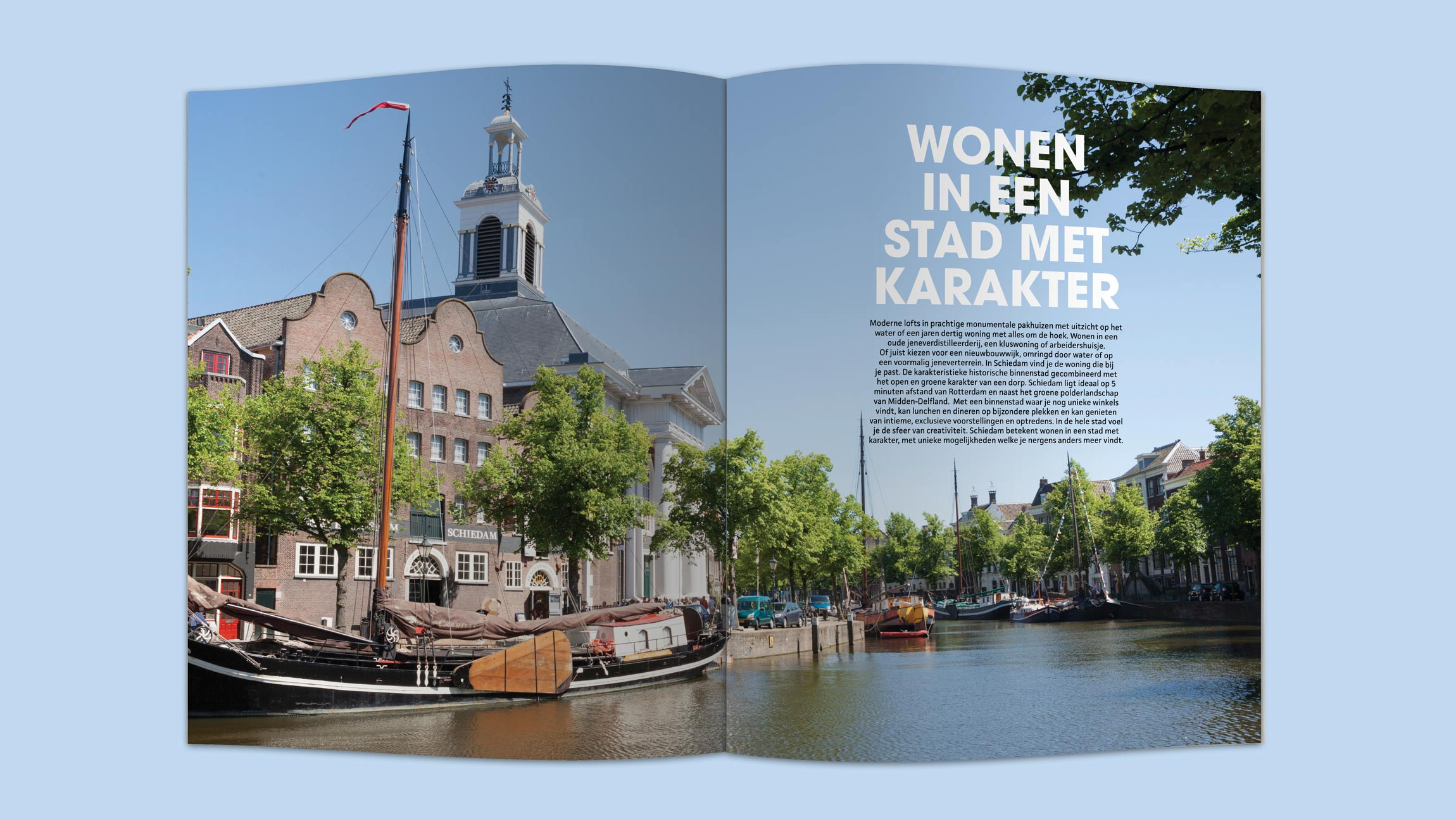 Schiedam Woont, magazine, Mixus studio