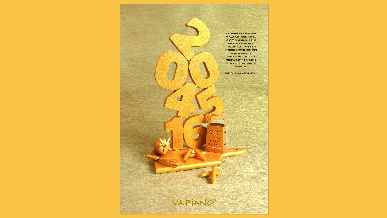 Vapiano, Poster, Mixus studio