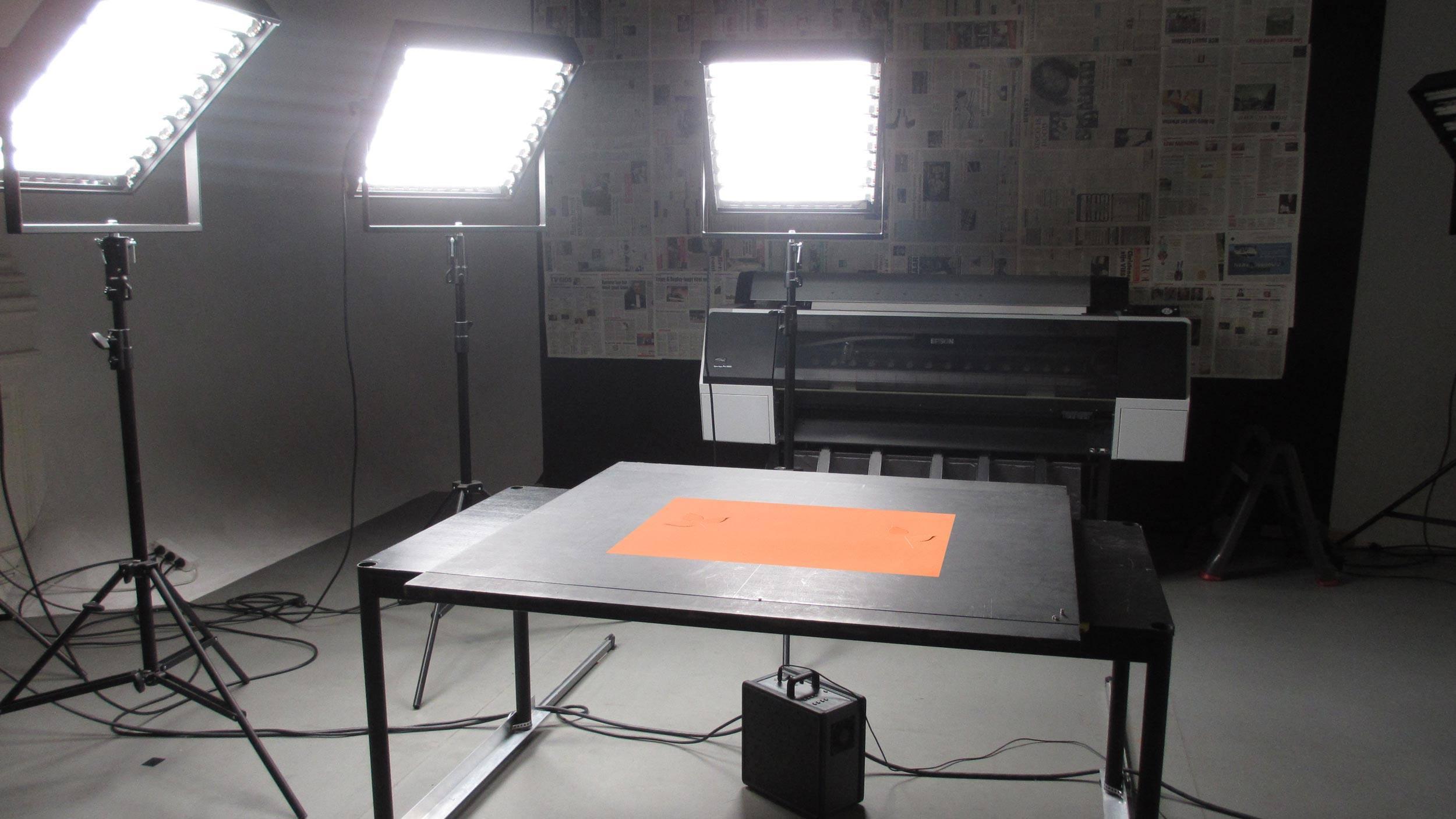 De Piloot, achter de schermen, Mixus studio
