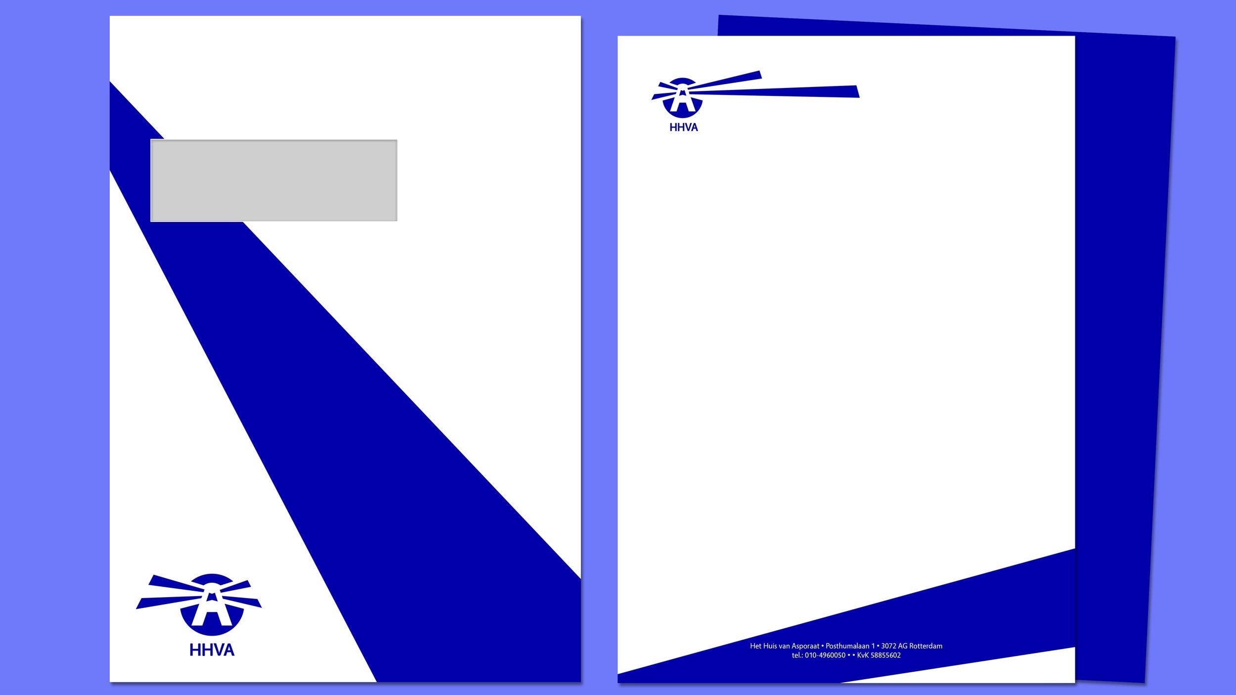 Het Huis van Asporaat, briefpapier, Mixus studio