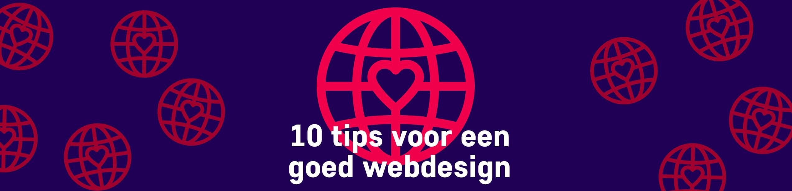 Hoe laat ik mijn website opvallen? 10 tips voor een goed webdesign.