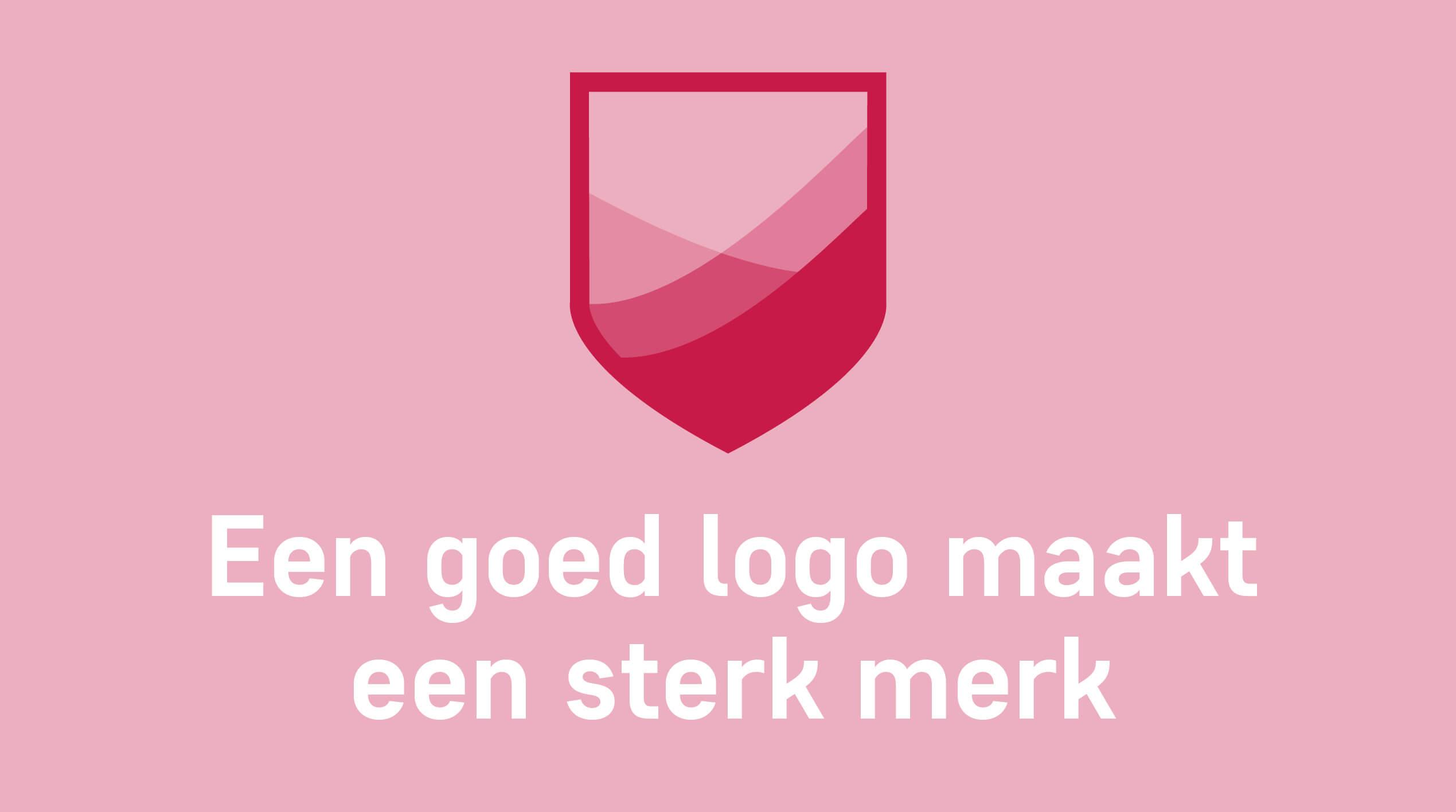 Een goed logo maakt een sterk merk