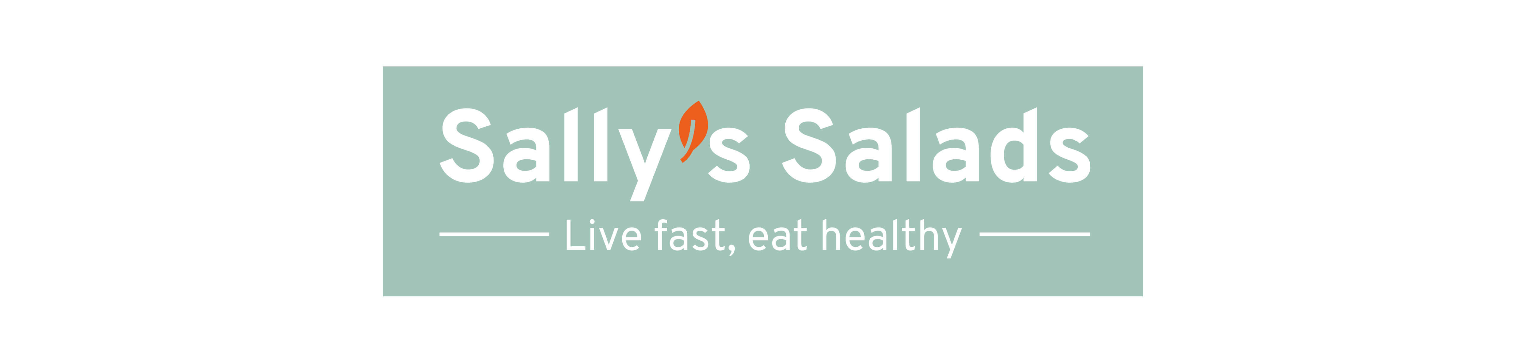 Sally's Salads, logo, Mixus studio