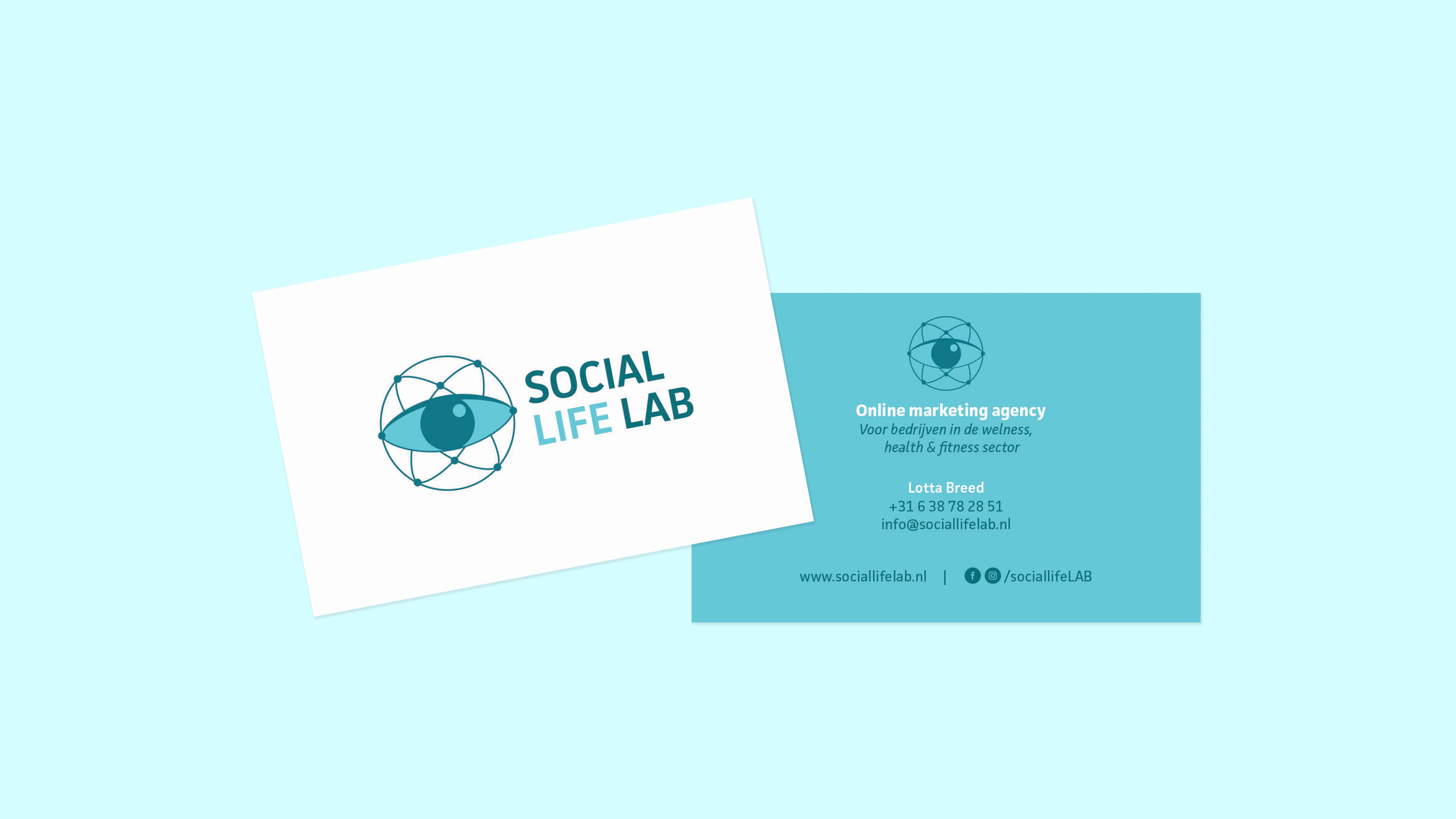 Social Life LAB, visitekaartje, Mixus studio