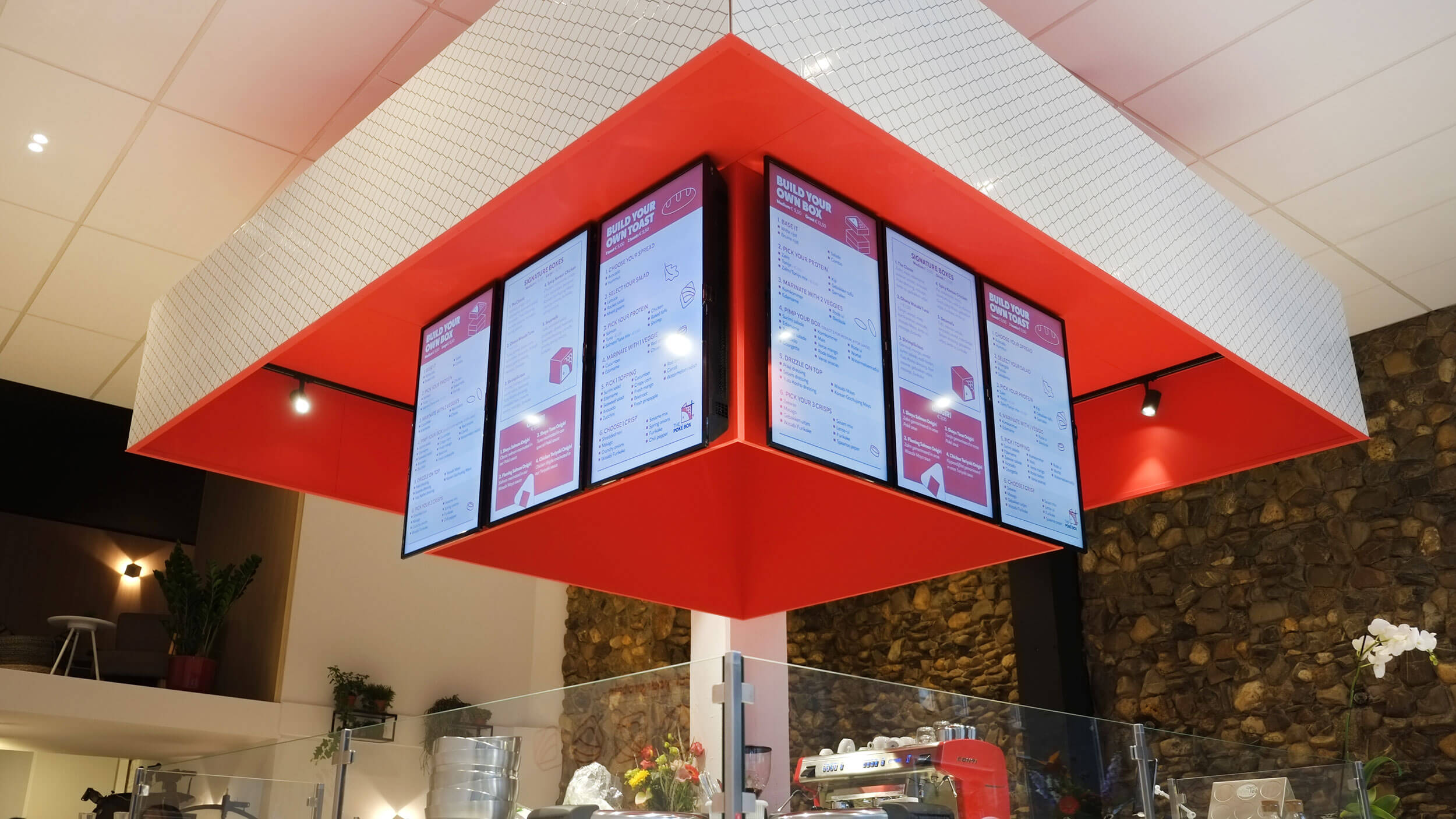 The Poké Box, menuschermen, Mixus studio