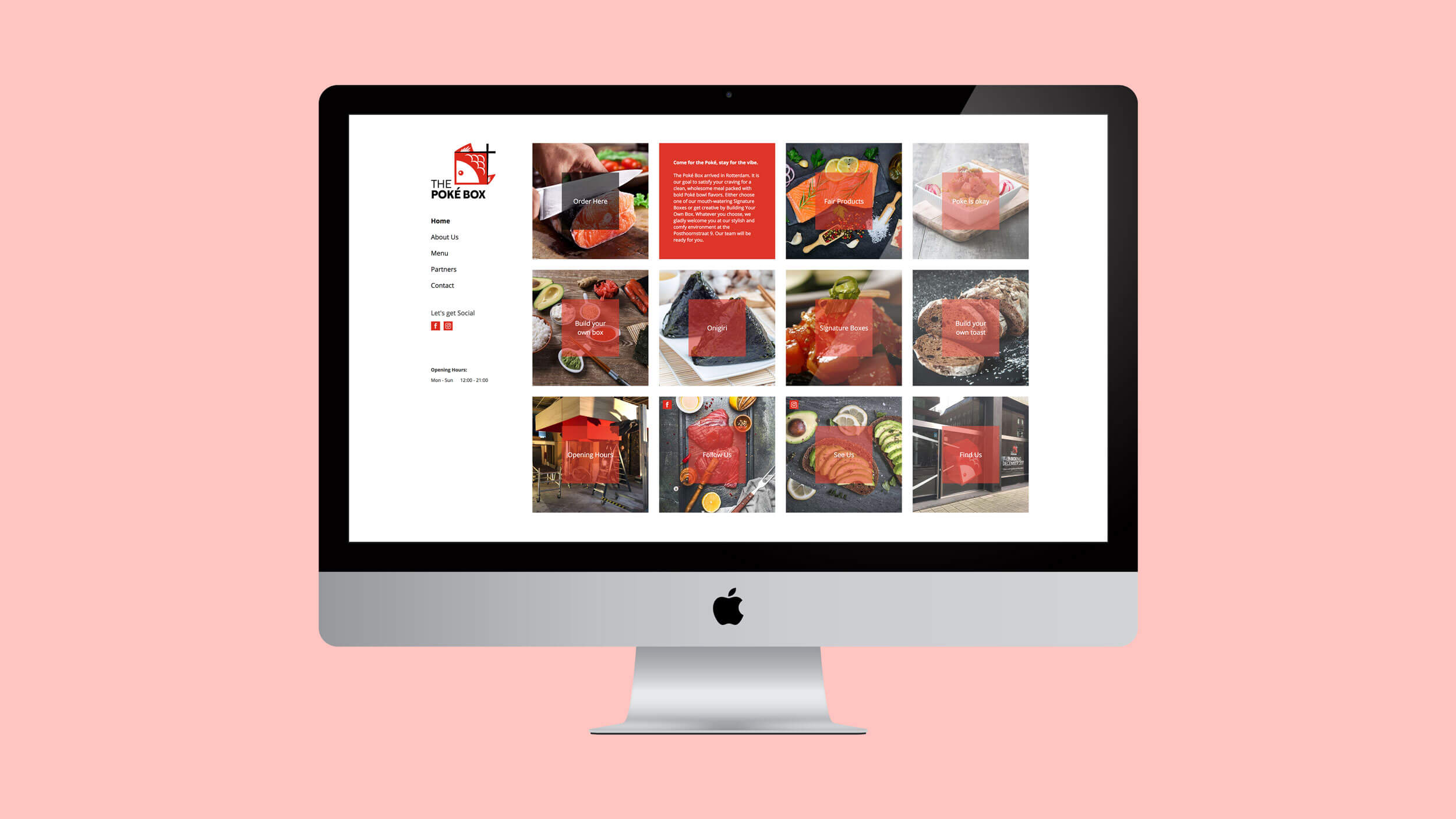 The Poké Box, website, Mixus studio