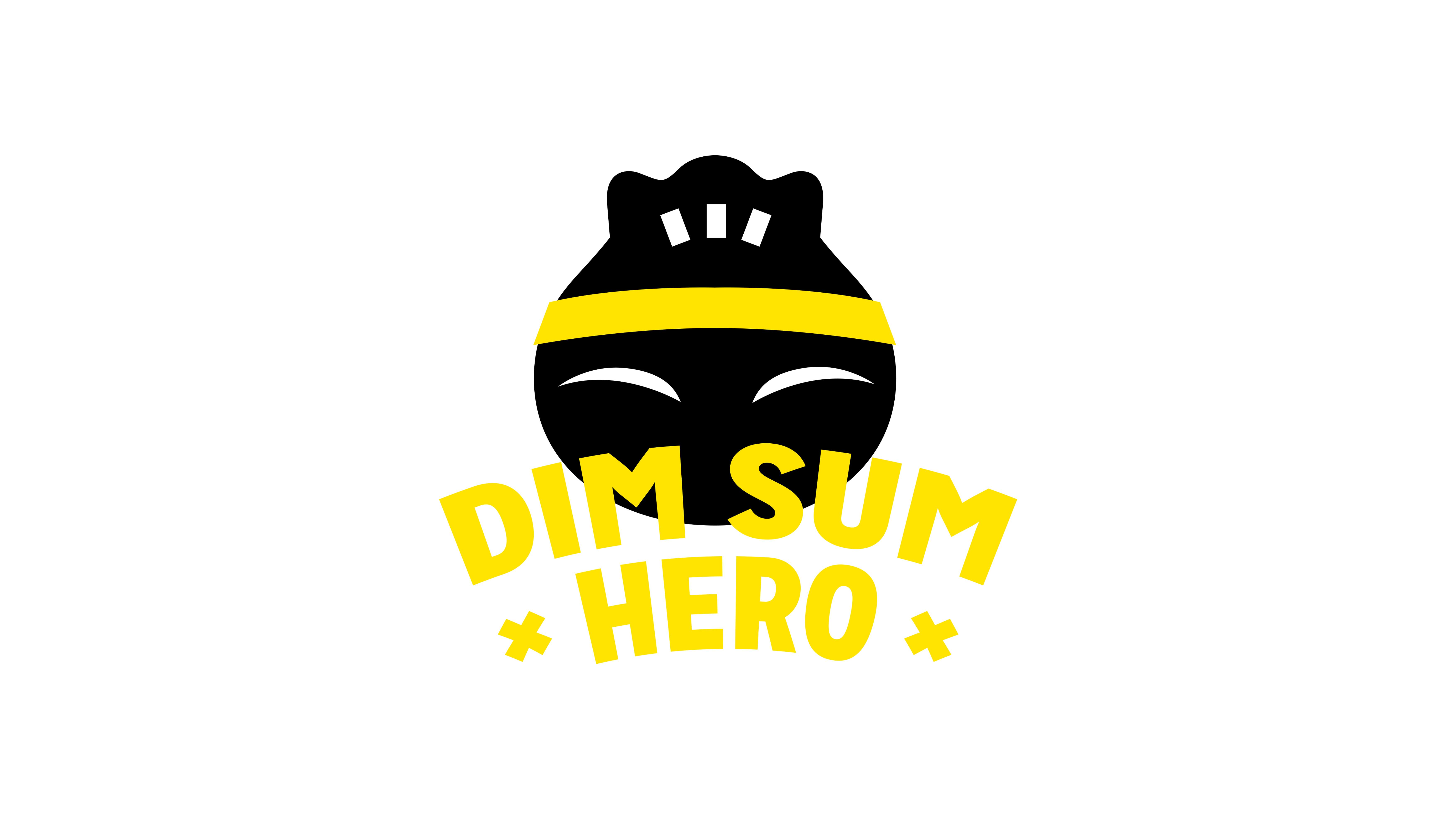 Dim Sum Hero, Mixus studio, logo wit