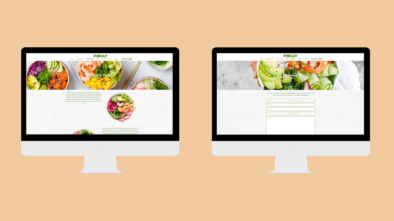 POKAY, website, Mixus studio