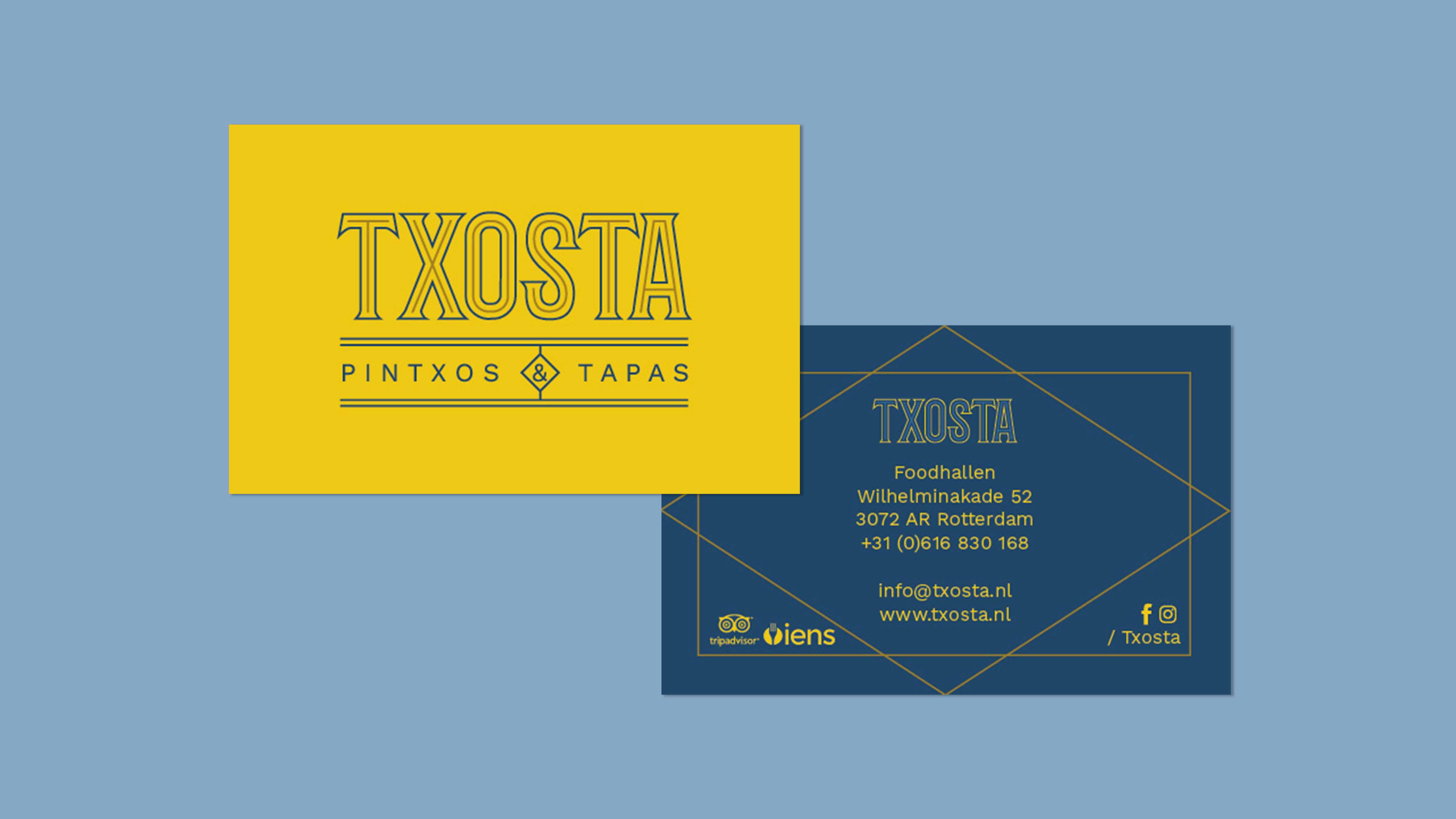 Txosta, Mixus studio, visitekaartje