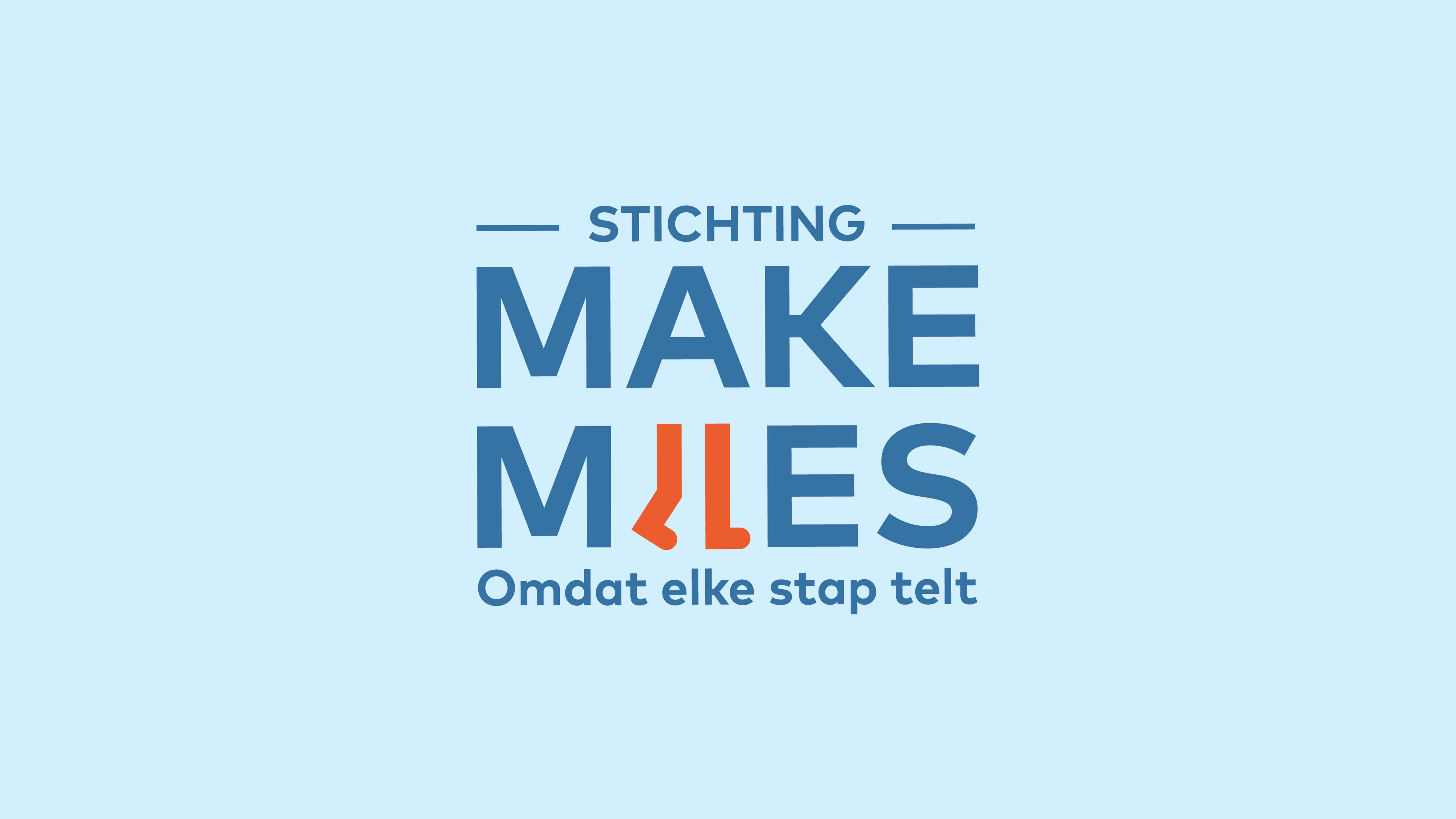 Stichting Make Miles, Logo Ontwerp, Mixus studio