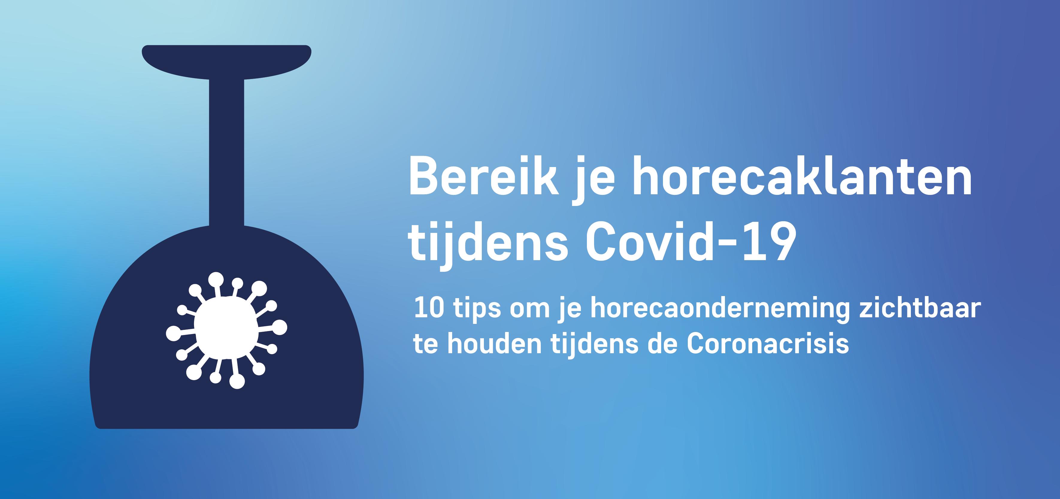Bereik je horecaklanten tijdens Covid-19